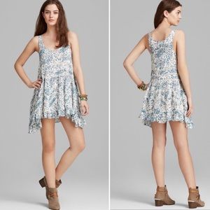 Intimately Free People voile & lace floral dress
